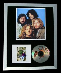 LED-ZEPPELIN-SIGNED-FRAMED-PRESENCE-STAIRWAY-100-AUTHENTIC-EXPRESS-GLOBAL-SHIP