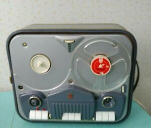 Vintage-1960-Philips-4-Track-Reel-to-Reel-Tape-Recorder-Model-EL3542A-52S