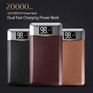 20000mAh-Doble-USB-Banco-de-alimentacion-portatil-LCD-bateria-de-respaldo-externo-Cargador-De