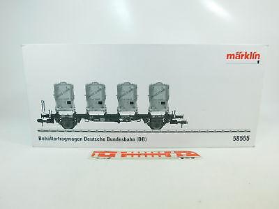 Bellissimo Bq223-4# Märklin Spur 1 Cartone Vuoto Per 58555 Vagone Trasporto Container Haus Prestazioni Superiori