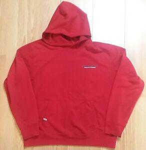 0dbb56799 Vintage POLO SPORT Ralph Lauren Red Spell Out Hoodie Sweatshirt Sz ...