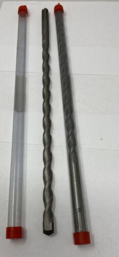 "Lot of 2 3//8/"" X12/""  SDS Plus Rotary Hammer Concrete Masonry Carbide Tip Bits"