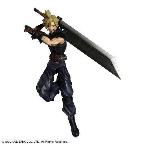 Square Enix Dissidia Final Fantasy Play Arts Kai Cloud Figure NEW from Japan