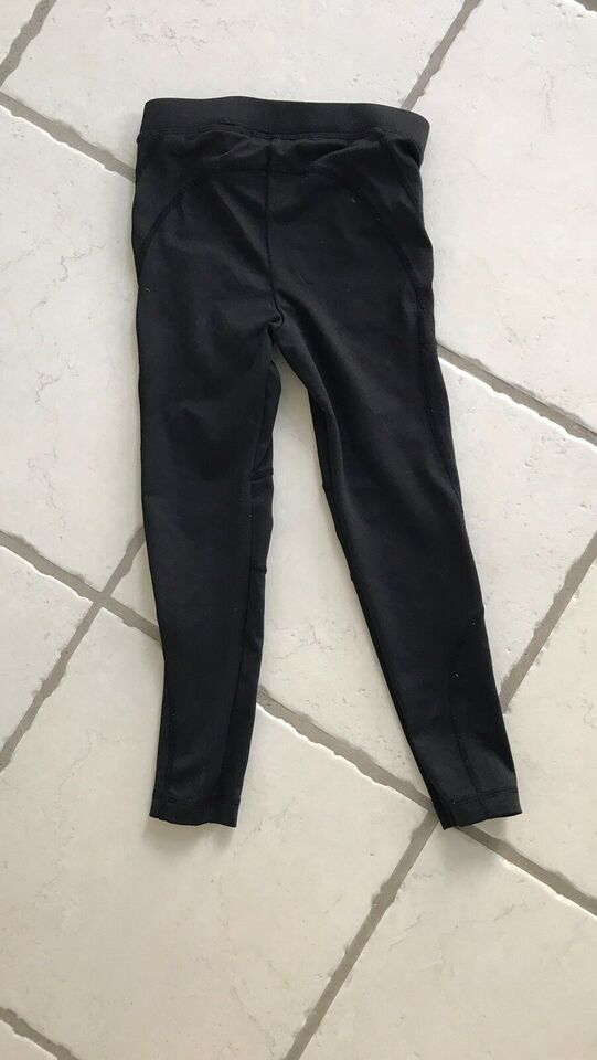 Gymnastiktøj, Str 2-3 år sort gymnastikbuks, H&M