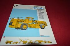 International Harvester Dressler SP-780 Milling Planer Dealer's Brochure DCPA2