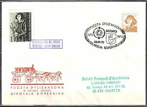 Poland-1973-Stagecoach-Post-on-the-trail-of-Copernicus-Brodnica-Golub-Dobrzyn