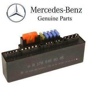 mercedes slk32 amg slk320 engine management relay module genuine 170 rh ebay com