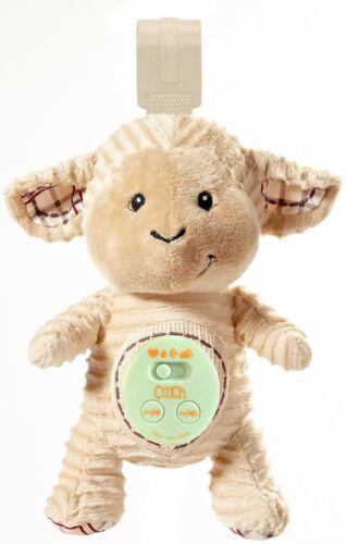 Sleep Aid Womb Sound Soother w//Playard Att. Cinch by dexbaby Plush Mini Lamb