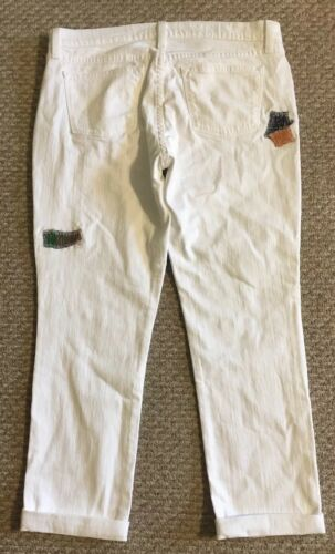 "Nwt In White Slim Sp""18 Jcrew 110 C1008 rotto Nwt in Slim Jcrew fidanzato Sp Rare Broken 110 Sz29 Sz29 C1008 Jean bianco Boyfriend in UxSBSHw"