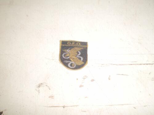 CUSTOM DRAGON PARCHE DE LOS GEO  POLICIA NACIONAL ESCALA 1//6