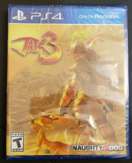 Jak 3 (Alternate Cover) Limited Run Games 258 LRG PS4 Playstation 4 Brand New