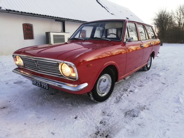 Ford Cortina 1,6 De Luxe Estate Benzin modelår 1968 km…