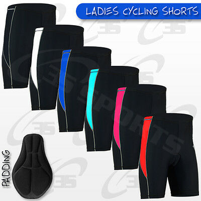 Ausdrucksvoll Ladies Cycling Shorts Coolmax Padded Mtb Cycle Bike Anti-bac Padding S,m,l,xl