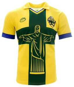 b091ead42 Image is loading Brasil-Arza-soccer-Jersey-exclusive-design-color-Yellow-