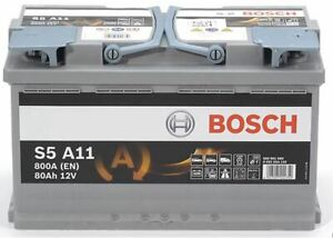 Genuine-Bosch-AGM-Car-Battery-0092S5A110-S5A11-Type-115-80Ah-800CCA-Quality