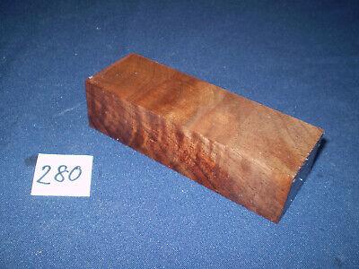 Messergriffblock Nussbaum amerikanisch 12x4x3cm