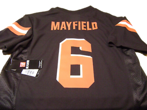 huge discount 5c48f 4f33b Details about Cleveland Browns #6 Mayfield (Brown) Jersey Size Youth M New