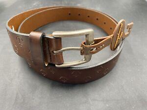 Tommy Bahama Mens Leather Belt