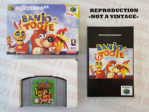 BANJO-TOOIE-PAL-EUR-NINTENDO-64-GAME-COMPLETE-BOX-MANUAL-PROTECTOR-CASE
