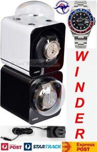 Fancy Brick Dual Automatic Watch Winder system-model: 2FB-F-CLRS -BRILLIANT!