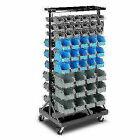 Giantz BIN-RACK-90-AB 90 Bin Storage Rack Stand