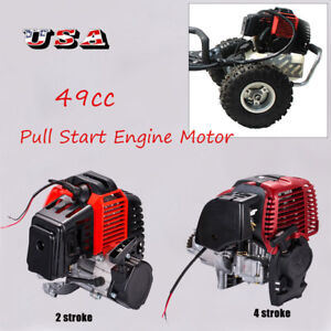 Image Is Loading 49CC Engine Motor Pull Start Pocket Mini Bike