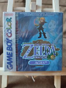 Legend of Zelda Oracle of Ages (Nintendo Game Boy Color) SEALED -- NUOVO -- MINT