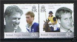 British Virgin Is.2003 Williams 21st B/day SG1128/9 MNH