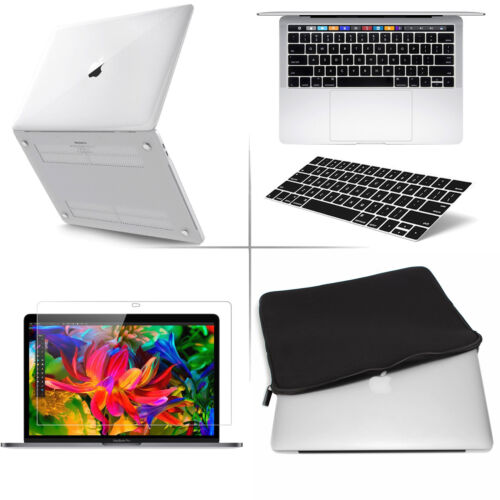"""Premium Laptop Case Cover Bag LCD Film Keyboard For 2016 Macbook Pro 15/"""" A1707"""