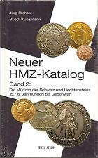 Neuer HMZ-Katalog, Band 2, Die Münzen der Schweiz und Liechtensteins