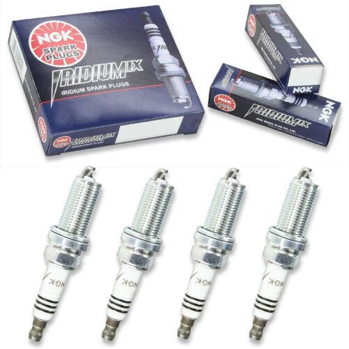 4pcs 04-13 Yamaha F150 NGK Iridium IX Spark Plugs L4 DOHC 150 HP Kit Set lt
