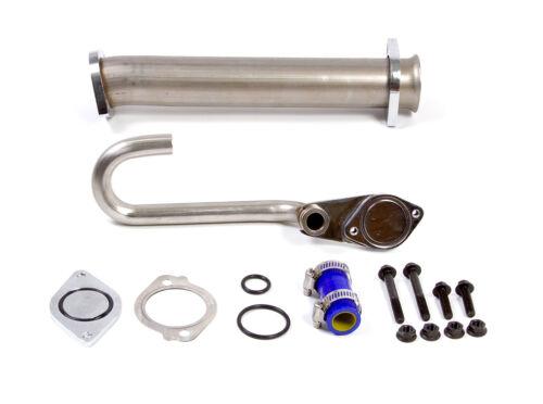 Removes Valve /& Cooler Ford 6.0 6.0L Powerstroke Diesel Premium EGR Delete Kit