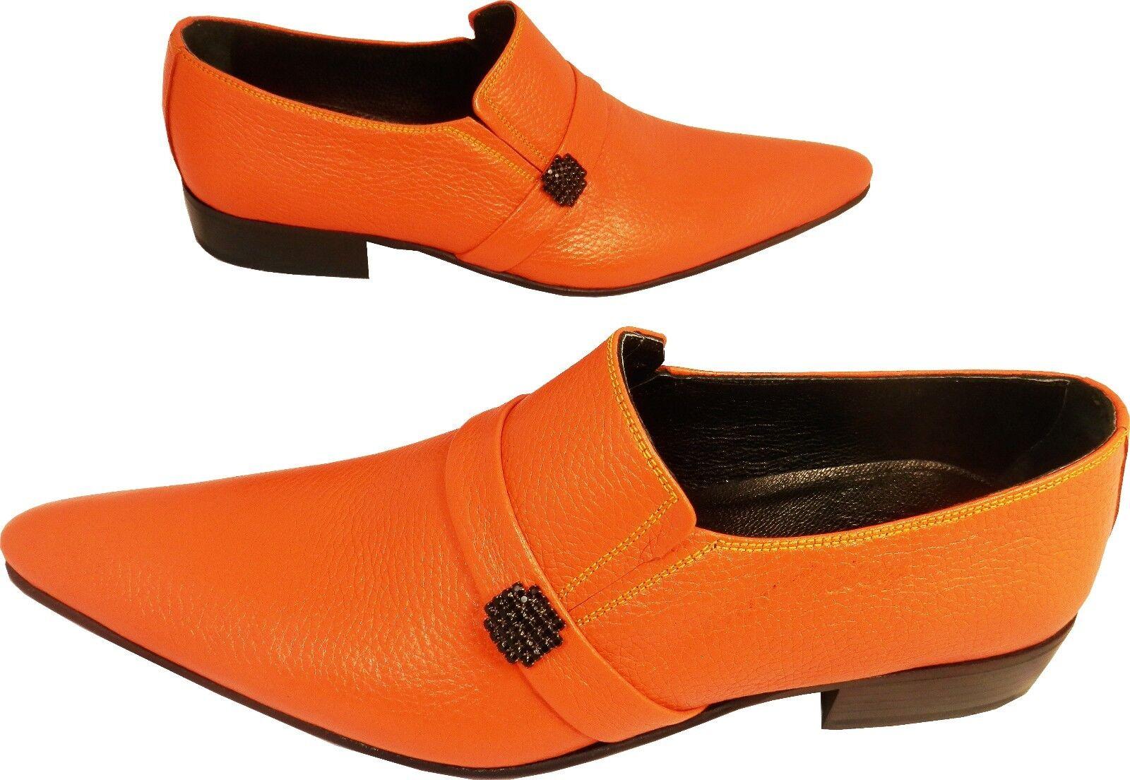 Chelsy-Designer Chelsy-Designer Chelsy-Designer Italiano Slipper orange pattern arance GUSCIO pagine SPILLA 45f72e