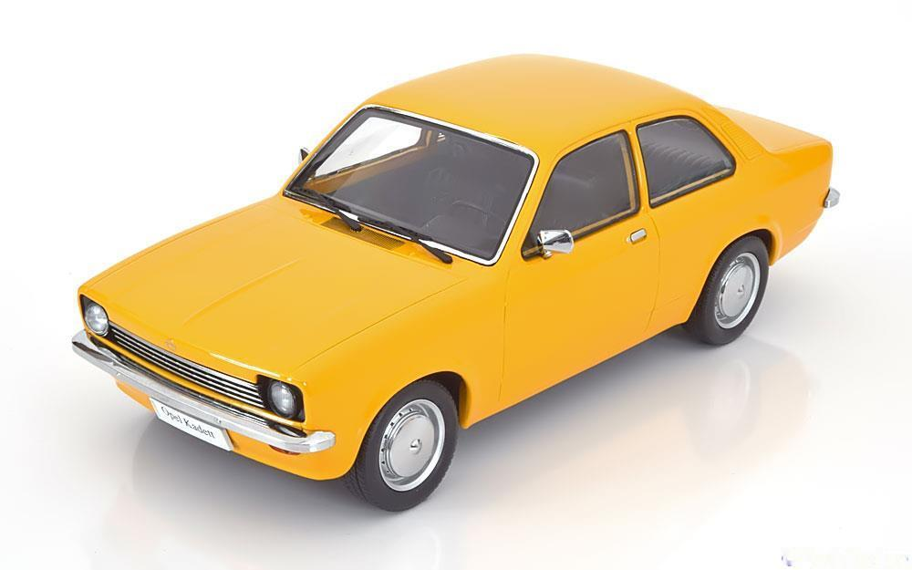 Opel kadett c 1973 1977 yellow kk-scale kkdc 180012 1 18 orange 1500 pieces