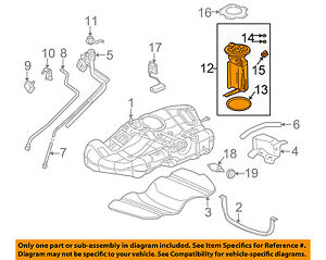 image is loading saturn-gm-oem-01-05-l300-fuel-pump-