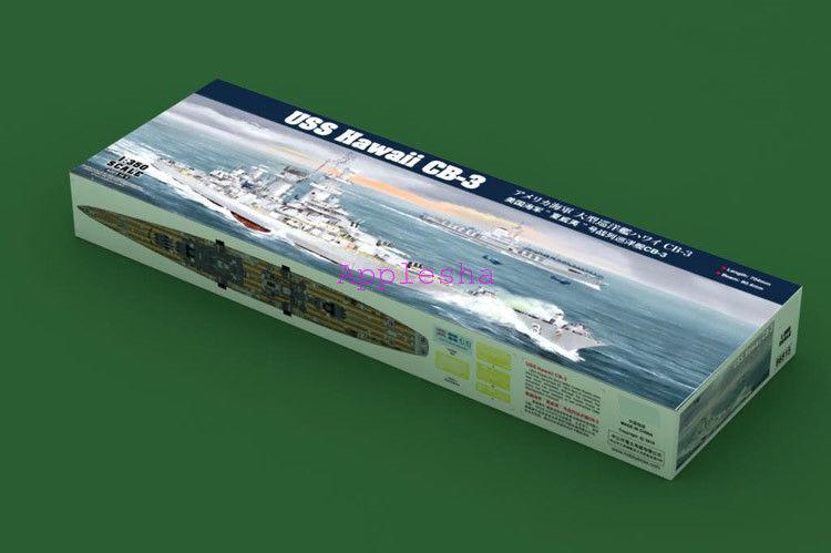 Hobbyboss 1 350 Scale 86515 USS Hawaii CB-3 Model Kit