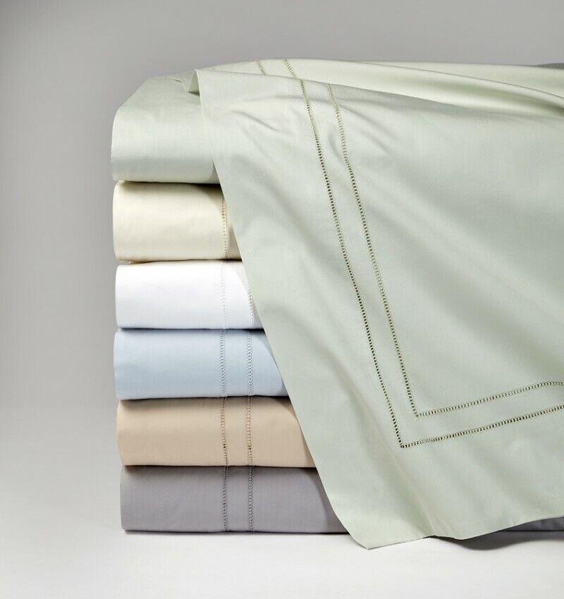 SFERRA Finna Flat Sheet Full QueenIvory Pre-Owned In New Condition