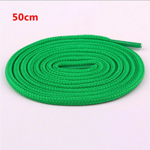 50-120cm Classic Waxed Round Cord Dress Shoe Laces Shoelace Unisex Rope Colorful
