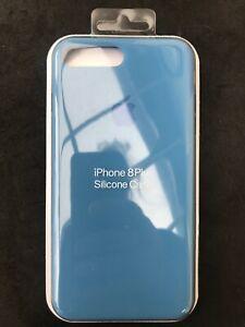 cover silicone iphone 7 blu
