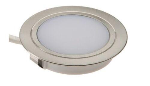 DEL Chrome secteur 240 V Cuisine sous l/'Unité Armoire éclairage L/'éclairage Domestique sans CONDUCTEUR