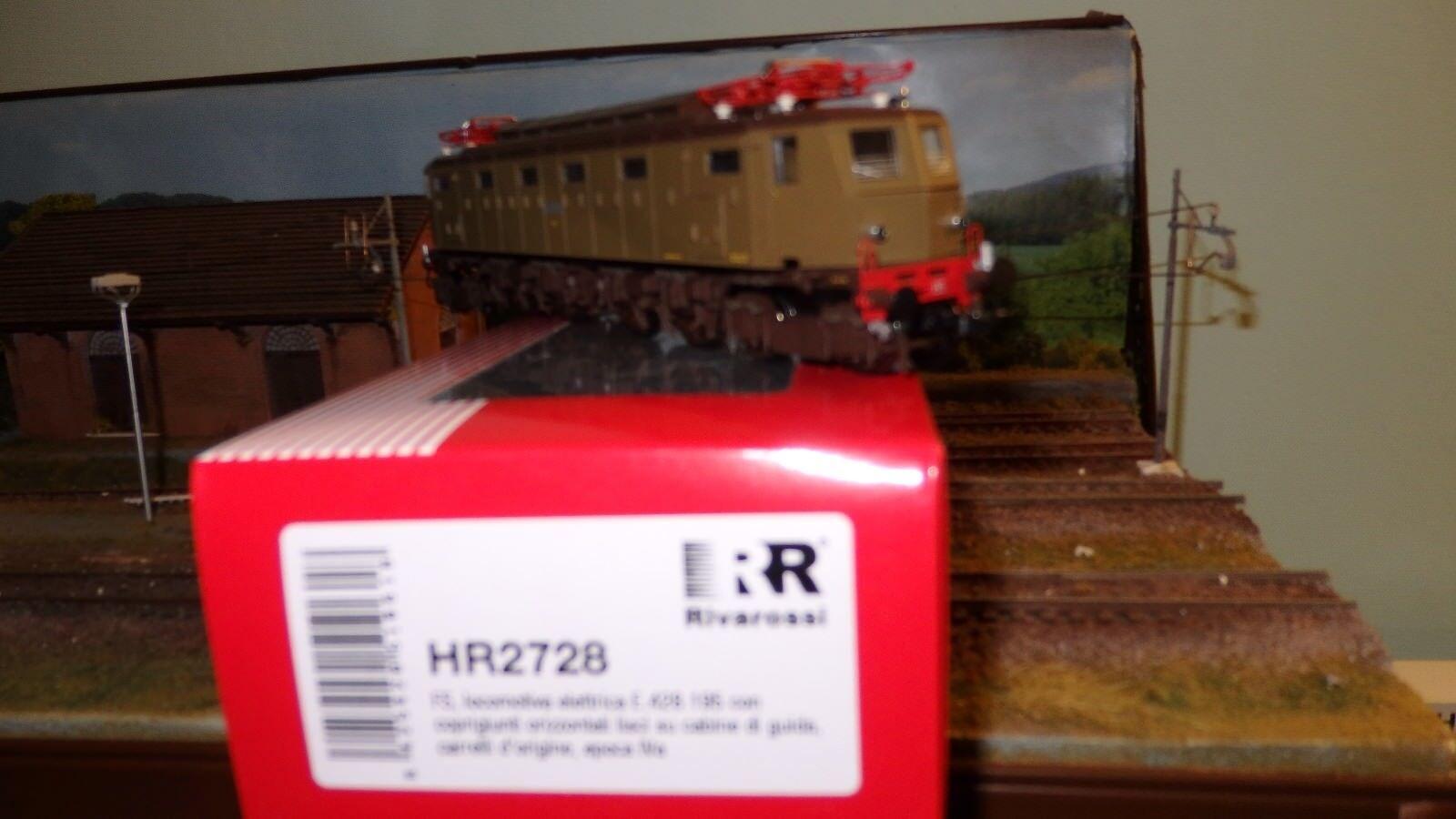 Rivarossi HR2728 E428 195 TERZA SERIE semiaerodinamica  Carrelli di origine,FS