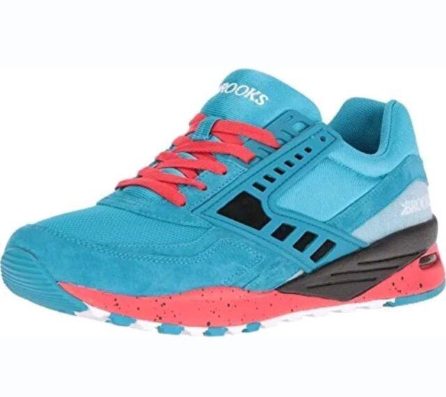28bbece04d438 Brooks Heritage Men s City Regent SNEAKERS Running Shoes Blue Red Size 7.5 for  sale online