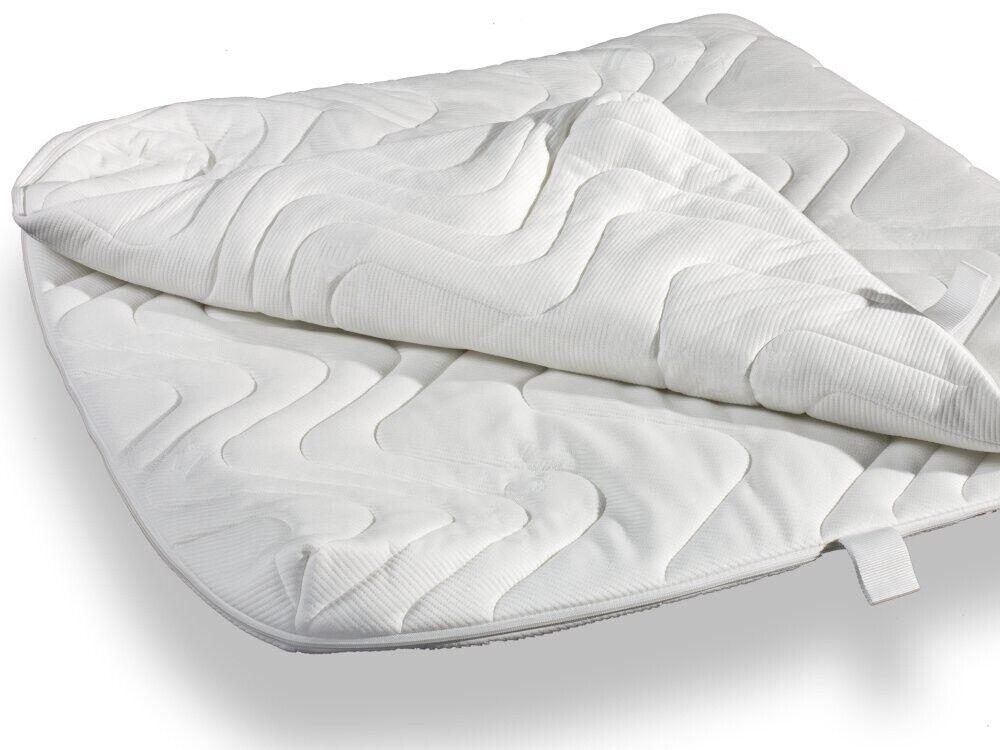 Ergomed® Matratzen Schutz Hülle Ersatzbezug Schoner Doppeltuch versteppt 120x200