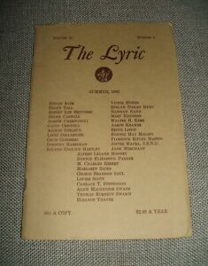 The-Lyric-for-Summer-1962-with-August-Derleth-Louis-Ginsberg-Walter-H-Kerr