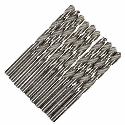 7.5mm HSS Metric Steel Split Point Twist Drill Drills for Metal Steel Wood 10pk