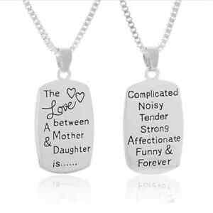 The Love Between A Mother Daughter Is Forever Charm Pendant Charms