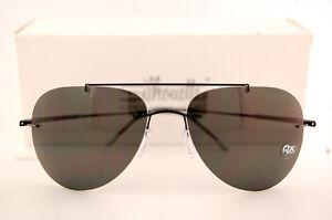 fed659c1e7 Image is loading New-Silhouette-Sunglasses-SUN-ADVENTURER-8142-6200-Black-