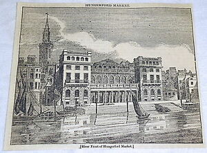 1832-magazine-engraving-River-Front-of-HUNGERFORD-MARKET-London