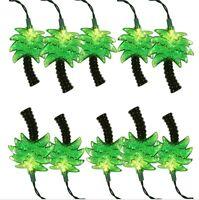 Palms Tree Beach Tropical Island Party Decor String Lights 5'5 Ft.