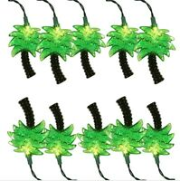 Palms Tree Beach Tropical Island Party Decor String Lights 5'5 Ft.